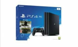 PS4 Pro 1TB - PlayStation + juego call of duty  Pr
