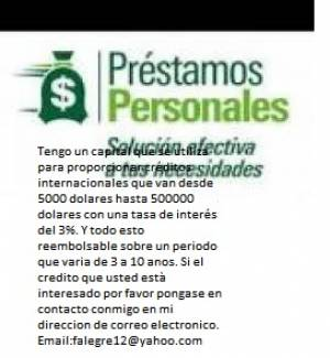 Oferta de financiación