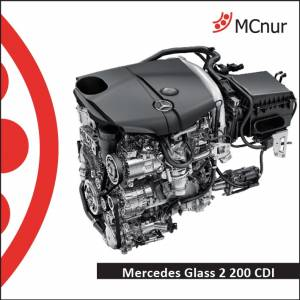 MERCEDES GLASS 2 200 CDI
