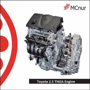 TOYOTA ENGINE TNGA 2.5