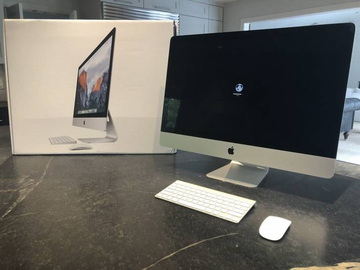 "Apple Imac 27"" 2016 I7 512gb Ssd 4tb Hd 32gb Memor"