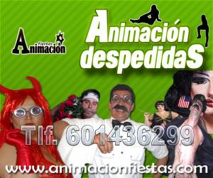 animaciones para despedidas en Madrid